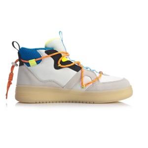 Li-Ning COUNTERFLOW Hunter 2020 Men's Classic Casual Shoes - Gray/White/Blue