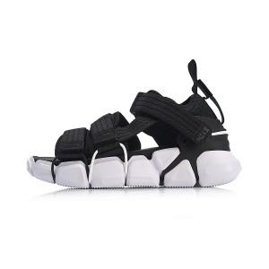 Paris Fashion Week MIX II PLATFORM Li-Ning Men's Fashion Casual Sneakers - Black/White [AGLN225-1]