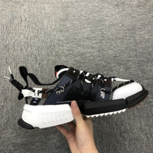 LI-NING x Atmos UT ACE Pangu 盘古 New Color Men's Fashion Casual Shoes - Black/Blue