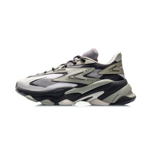 Li-Ning 2020 CF ALINE PANDUOLA Men's Fashion Casual Shoes - Gray/Grey