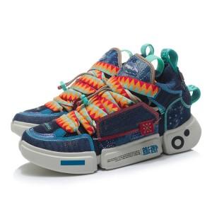 China Li-Ning 21AW Essence 2.0 Roots Men's Fashion Sports Shoes - Blue