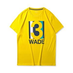 Way of Wade 2020 Men's Basketball Cultural T-Shirt - Yellow