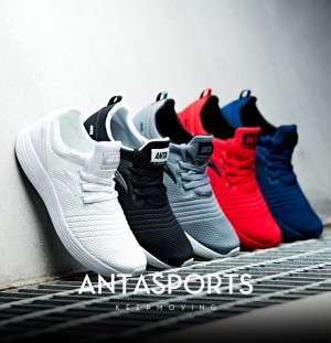 Anta 2017 Men's Lightweight Breathable Cushioning Running Shoes