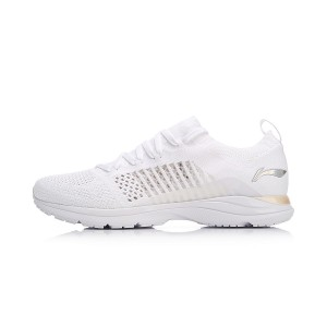 Li-Ning 2018 Spring New Super Light 15 Women's Running Shoes - White [ARBN016-2]