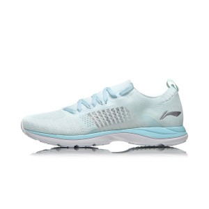 Li-Ning 2018 Spring New Super Light 15 Women's Running Shoes - Blue/White [ARBN016-8]