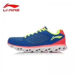 Li Ning Arc 5 Mens Cushion Running Shoes - Dream Blue/Flame Red/Bright Green