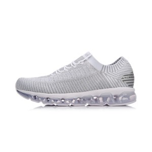 Li-Ning 2018 Air Arc Women's Reflective Sock Like Cushioned Running Shoes - Blue [ARHN044-3]