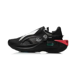 """Paris Fashion Week China Li-Ning FW2020 """"Rangers"""" 游侠 Men's Running Shoes - Black"""