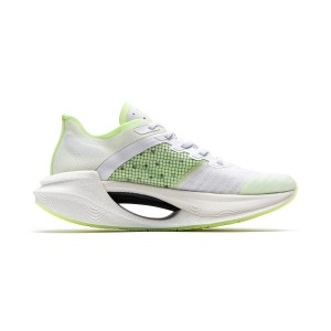 Li-Ning 2020 绝影Essential Women's Bullet Speed Running Shoes - White/Green