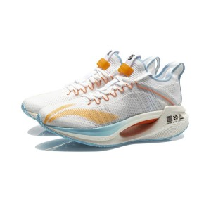 Li-Ning Boom 2021 New Colorway 绝影 Essential Men's Running Shoes - White/Blue