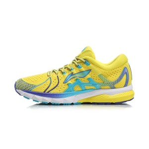 Paris Fashion Week China Li-Ning FURIOUS RIDER 4 IV Men's Stable Running Shoes - Yellow [ARZN009-2]
