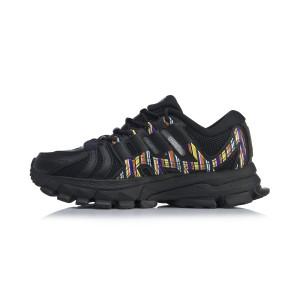 China Li-Ning 2020 Paris Fashion Week FURIOUS RIDER ACE Men's Stable Running Shoes - Black