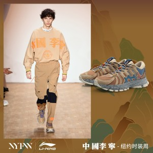 China Li-Ning 2019 New York Fashion Week FURIOUS RIDER ACE Men's Stable Running Shoes - [ARZP007-1]