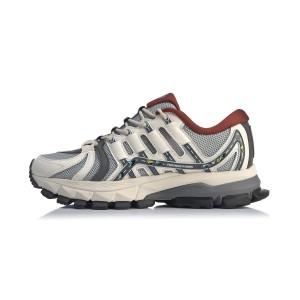 China Li-Ning 2020 Paris Fashion Week FURIOUS RIDER ACE Men's Stable Running Shoes - Grey/White