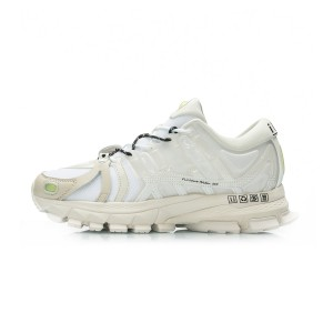 China Li-Ning 2019 New York Fashion Week Show Style Furious Rider ACE 1.5 Men's Stable Running Shoes - White