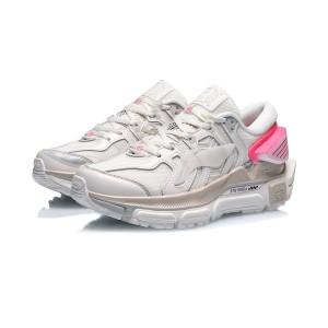 China Li-Ning 2020 Paris Fashion Week Sun Chaser 夸父 Men's Fashion Running Shoes - White/Gray