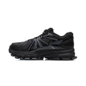 Paris Fashion Week China Li-Ning 2020FW FURIOUS RIDER ACE Element Men's Stable Running Shoes - Black