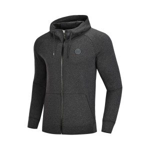 Way of Wade 2018 Fall Men's Hoodie Sweater | Li-ning Sports lifestyle Pullovers - Grey [AWDN671-4]