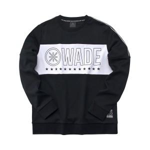 2019 Spring New Way of Wade Men's crew-neck sweater - Black [AWDP219-1]