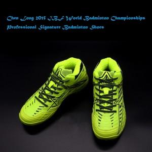 Li-Ning Chen Long 2015 IBF World Badminton Championships Professional Signature Badminton Shoes
