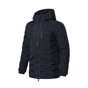 Way of Wade 2018 Winter New Warm 90% goose down Men's down jacket - Black
