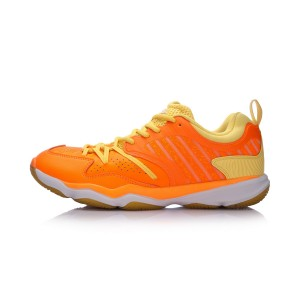 2018 Li-Ning Ranger TD Men's Badminton Training Shoes - Orange [AYTM081-3]