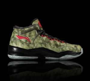 Li Ning WoW 3.0 Way of Wade 3 Veterans Day-Yellow/Black/Red