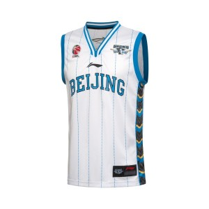 Li Ning 2016-2017 CBA Beijing Ducks Team Home Customized  Basketball Jersey