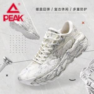 Peak X LOUVRE Yiyi Museum 2021 Summer Men's Fashion Casual Daddy Shoes