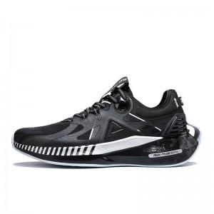 PEAK 2021 PEAK-TAICHI 3.0 Pro Men's Smart Running Shoes - Black/Silver