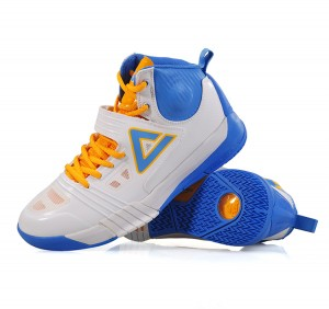eak Team Carl Landry Hurricane II Professional Basketball Shoes - White/Water Blue