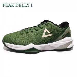 Peak Delly1 Basketball Shoes - Green