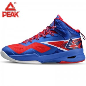2014 FIBA Basketball World Cup Peak Soaring II Basketball Shoes - Blue Speed Eagle