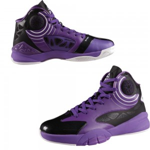 Peak Hurricane III Carl Landry Professional Basketball Shoes - Purple/Black
