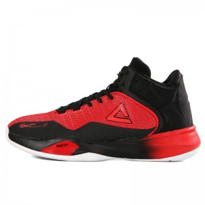 Peak Tony Parker 2017 TP9 Men's Basketball Shoes - Red/Black