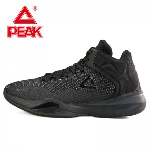 Peak 2017 Tony Parker TP9 Men's Professional Basketball Shoes - Black