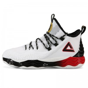 PEAK Dwight Howard DH4 Professional Basketball Shoes - White/Black