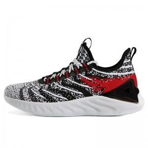 "PEAK 2019 Spring New PEAK-""TAICHI"" Smart Running Shoes - White/Black"