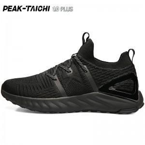 "PEAK 2019 Summer New PEAK-""TAICHI"" 1.0 Plus Smart Running Shoes - All Black"