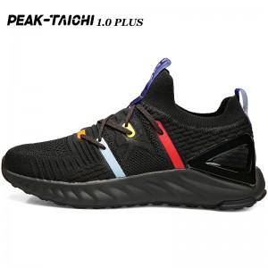 "PEAK 2019 Summer New PEAK-""TAICHI"" 1.0 Plus Smart Running Shoes - Black/Red"
