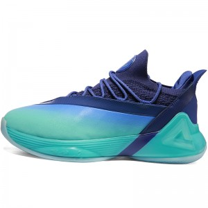 Peak Tony Parker 7 VII PEAK Tp7 Taichi Basketball Shoes - Royal/Purple