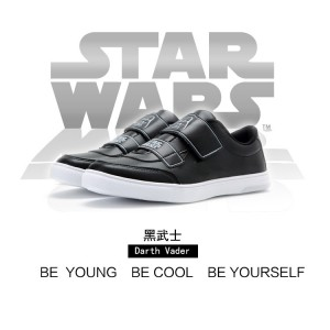 Star Wars x Feiyue 2017 New Style Low Shoes 'Darth Vader'