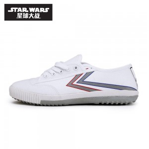 Star Wars x Feiyue Low Shoes 'White Lightsaber'