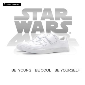 Star Wars x Feiyue 2017 New Low Canvas Shoes 'Stormtrooper'