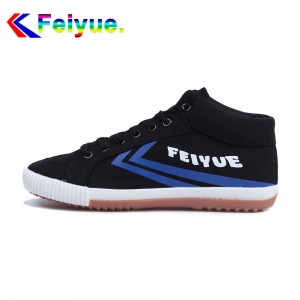 Feiyue Delta Mid  Fashion Causal Shoes - Black