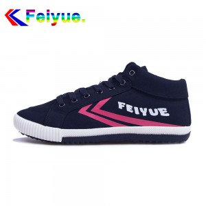 Feiyue Delta Mid  Fashion Causal Shoes - Deep Blue