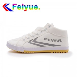 Feiyue Delta Mid  Fashion Causal Shoes - White/Grey