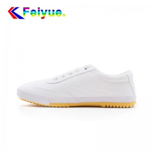 Feiyue Plain Classic Low Fashion Causal  Shoes - White