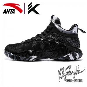 Anta KT2 Klay Thompson 2017 Outdoor II Team basketball shoes - Black/Grey/White
