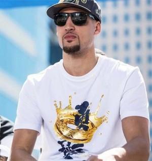 2018 Klay Thompson NBA Championship Parade Limited T-shirt